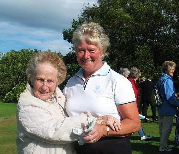 Nancy MacGadie and Janet Gillies