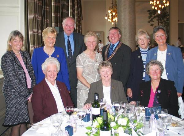 The Top Table at the SLGA Centenary Lunch 2004